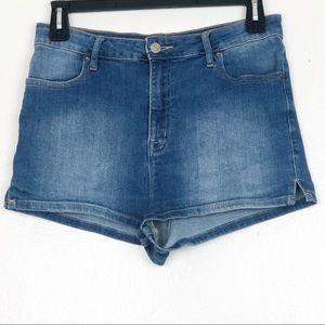 BDG Super High Rise Spade Pin Up Jean Shorts 31